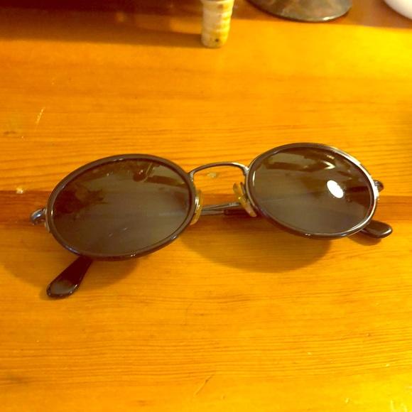 3c6a492d5d0 SALE RARE Vintage Gucci Oval (circle) Sunglasses